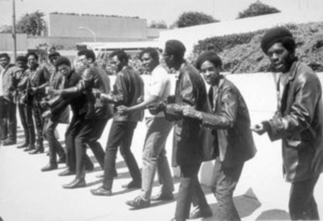 World War II and After in the Black West- Black Panthers
