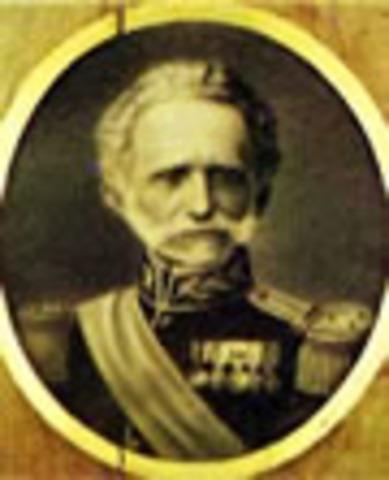 General Tomás Cipriano de Mosquera Presdiente