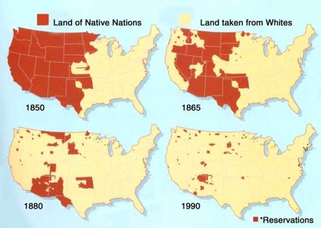 Migration to Oklahoma- Indian lands