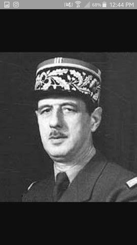 Gaulle como presidente