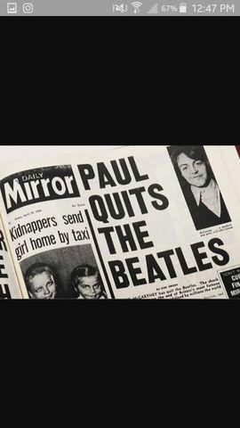 Separación de Los Beatles