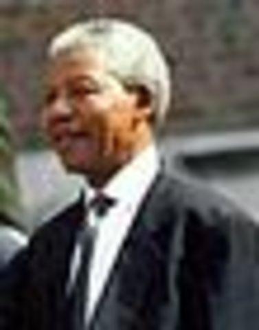 Eleccion de Nelson Mandela