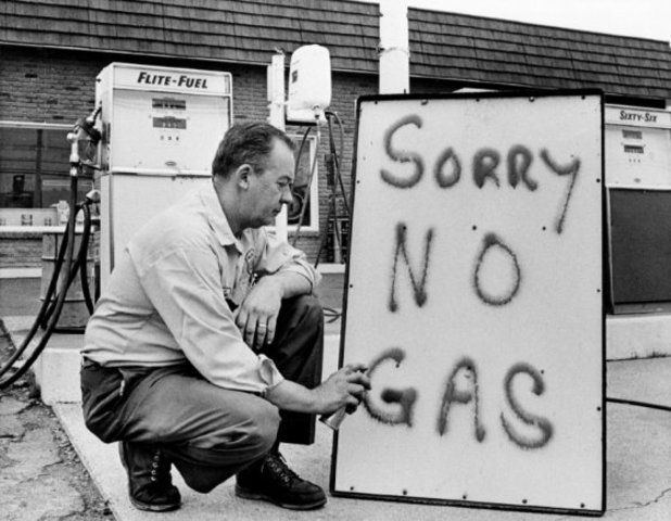 Crisis del petróleo mundial