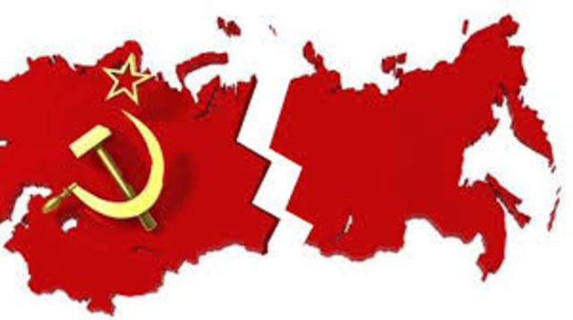 1990 Desintegración de la URSS
