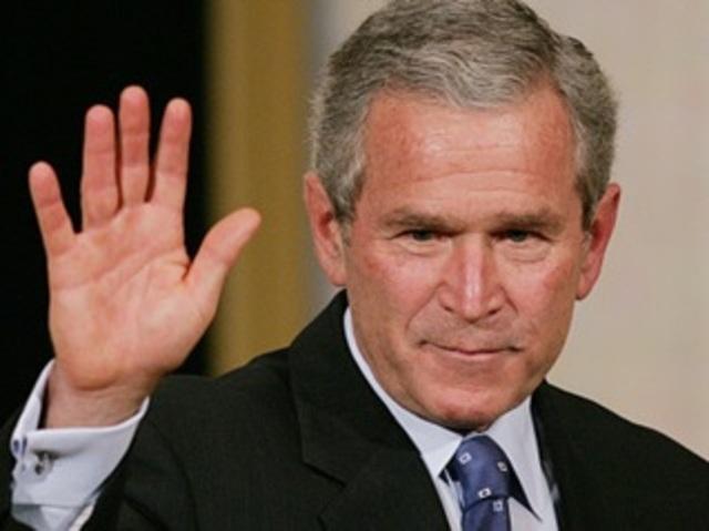 George W. Bush, nuevo presidente de los EE.