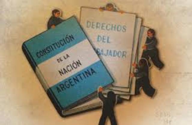 1994: Se aprueba la reforma de la Constitución Nacional Argentina.