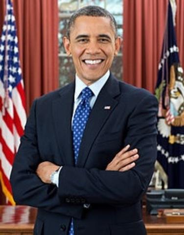 El primer afroamericano que llega a la Casa Blanca.
