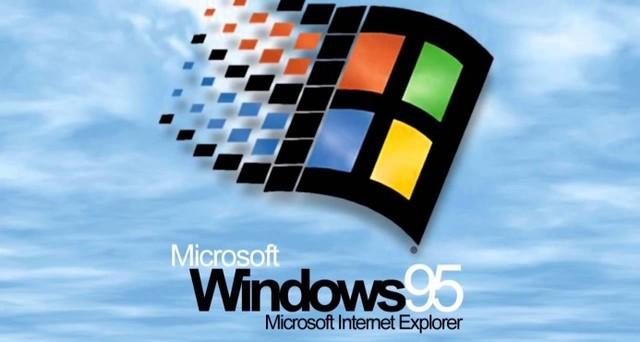 1995: Sale a la venta el sistema operativo Windows 95