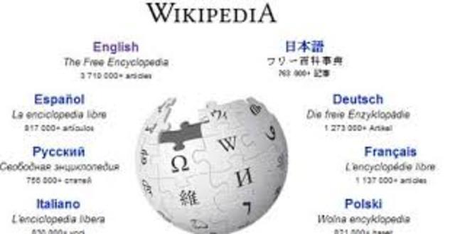 2001: Es abierto mundialmente el sitio web wikipedia