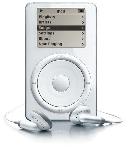 Se lanza el primer iPod de Apple