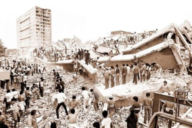 Terremoto del 85, México