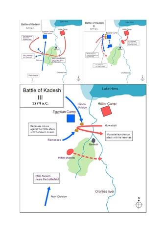 Schlacht bei Kadesch(Qadeš) - heutiges Damaskus