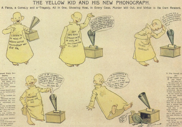 Richard Felton Outcault - Hogan's Alley / The Yellow Kid