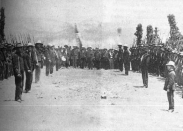 1900- 1905 Batalla de Palonegro