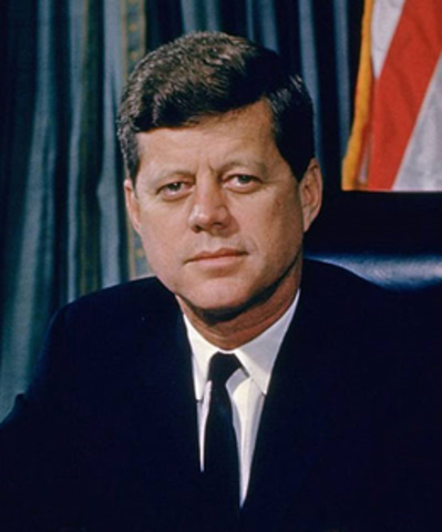 John F. Kennedy announces existence of missiles in Cuba
