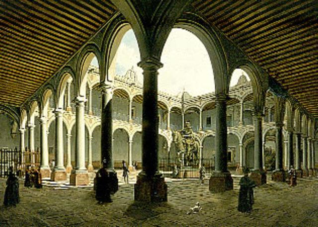 Real y Pontificia Universidad de México.