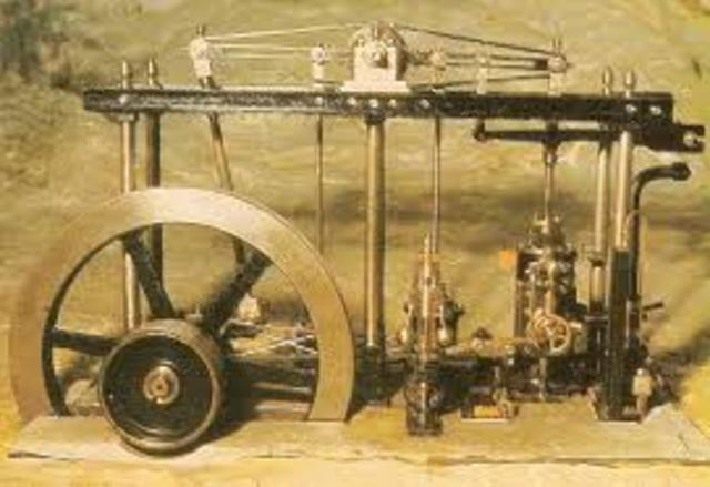 Invención de la maquina de vapor
