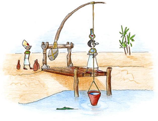 Construyeron sistemas de irrigacion. (3000 a. de c.)