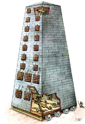 Se construyo el castillete (305 a. de C.)