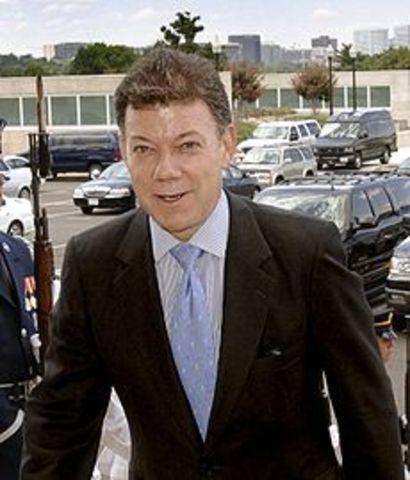 Juan Manuel Santos presidente