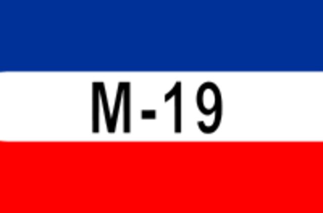 Actos delictivos M-19