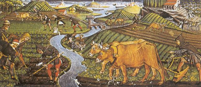 Agricultura y ganadería.
