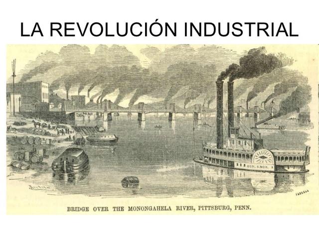 INICIO DEL SIGLO XIX REVOLUCIÓN INDUSTRIAL