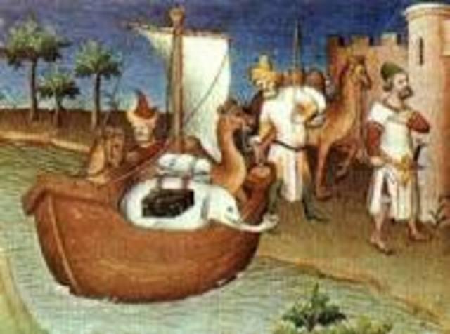 Mercaderes venecianos.