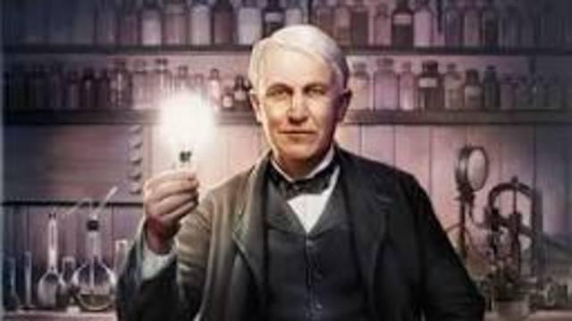 Thoma Alva Edison.