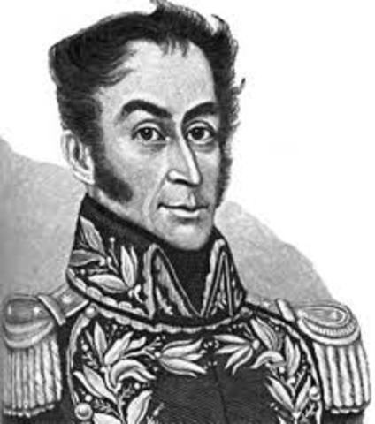 Simon Bolivar expone el Plan Libertador