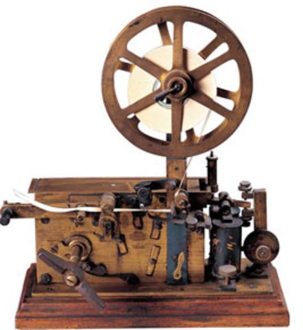 TELÉGRAFO ELECTRÓNICO 1840