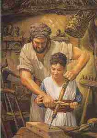 Todo hombre debia seguir el oficio de su padre(301 d. de C.)