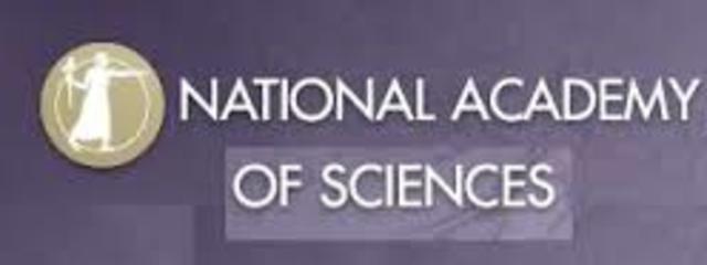 Academia nacional de ciencias.