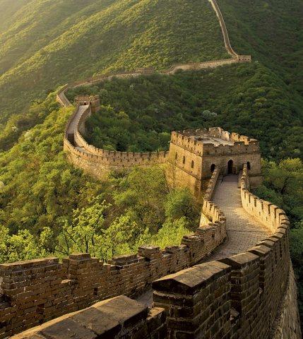 La muralla china.(siglo v)