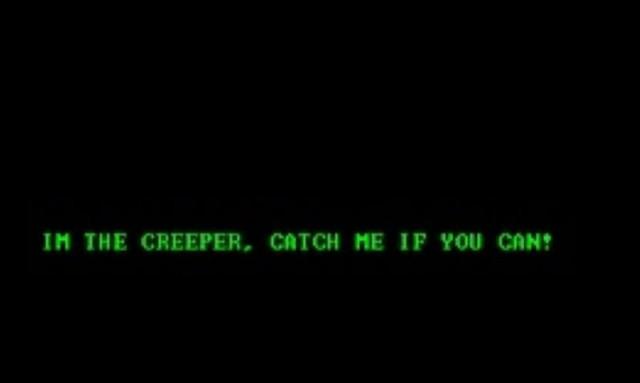 """Primer Virus """"Creeper"""""""
