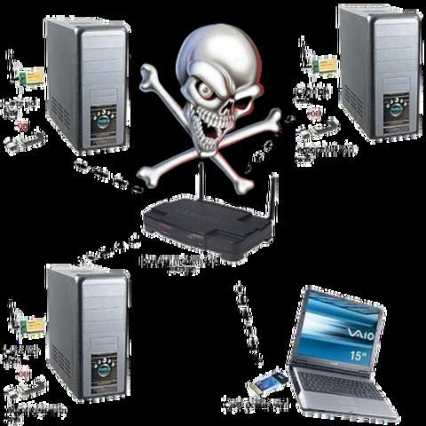 Primer Virus Por WiFi