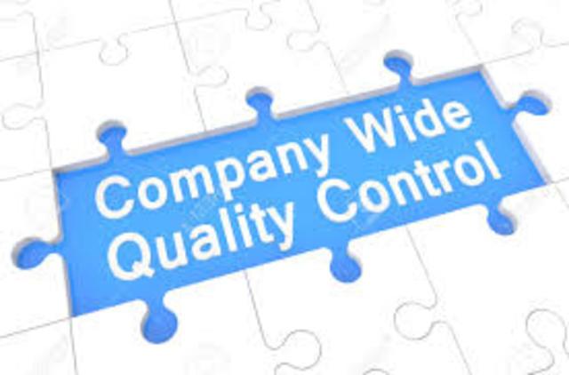 Company Wide Quality Control - Japon