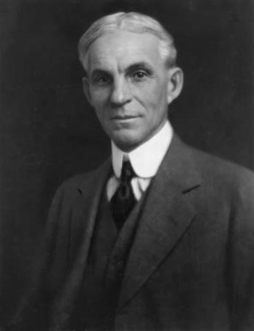 Henry Ford ( sistema de produccion en linea)