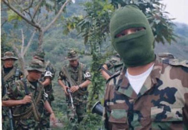 Incursión de las autodefensas en la Vereda San Juan de Ité,