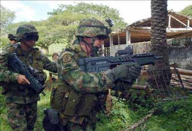 operativos militares en el sur de Bolívar