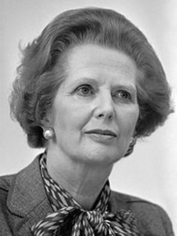 Margaret Thatcher - Inglaterra