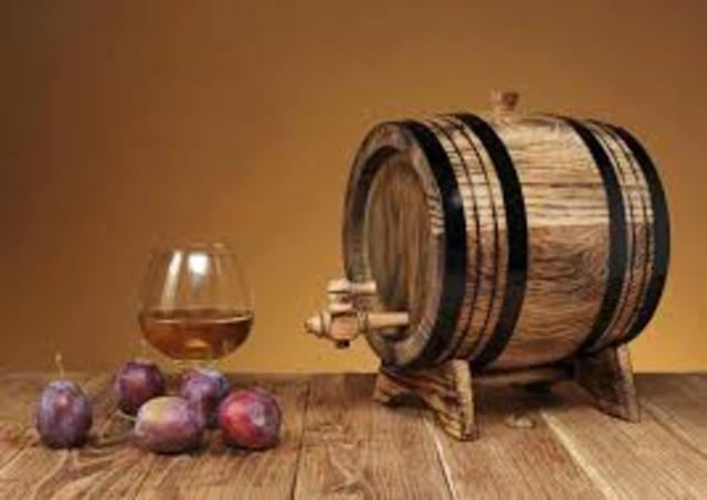 Primera destilacion de vino