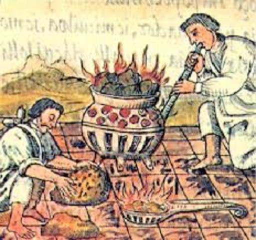 Llegada de la metalurgia a Mesoamerica