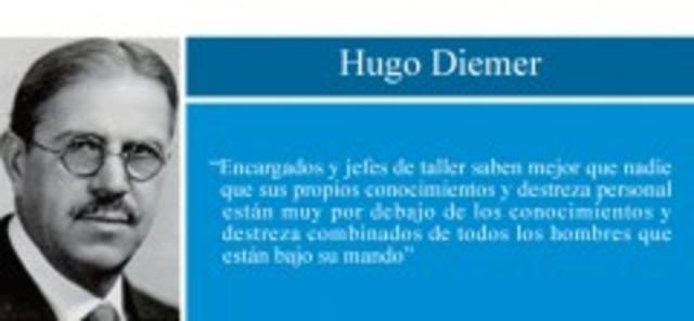 """Hugo Diemer. Curso """"Economía de la fabrica"""" Universidad de Kansas"""
