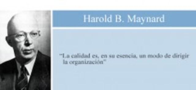Harold B. Maynard. Ingeniería de Métodos