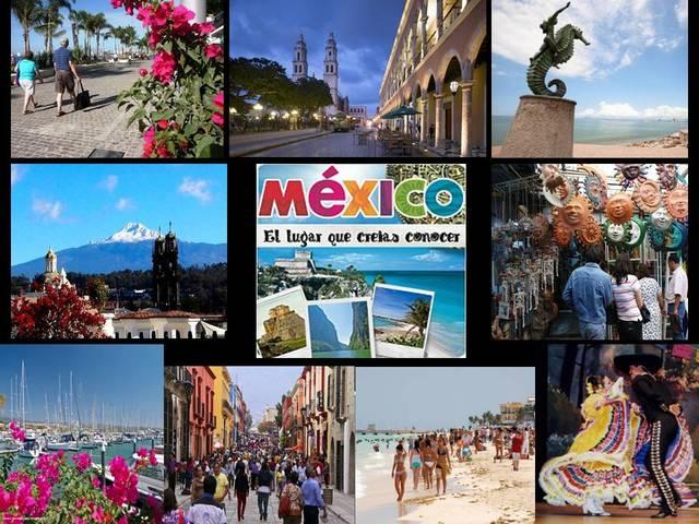 En 2015 México se ubicó en el lugar 9 en llegadas de turistas internacionales y en el lugar 23 en ingreso de divisas por turismo internacional.
