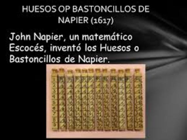 Bastoncillo De Napier (1614)