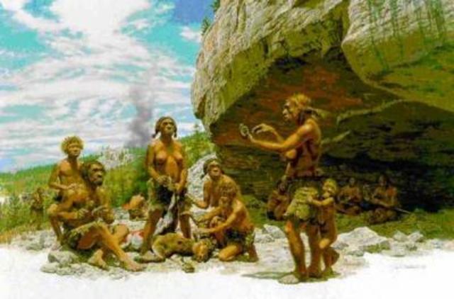 Genetica Y el hombre primitivo