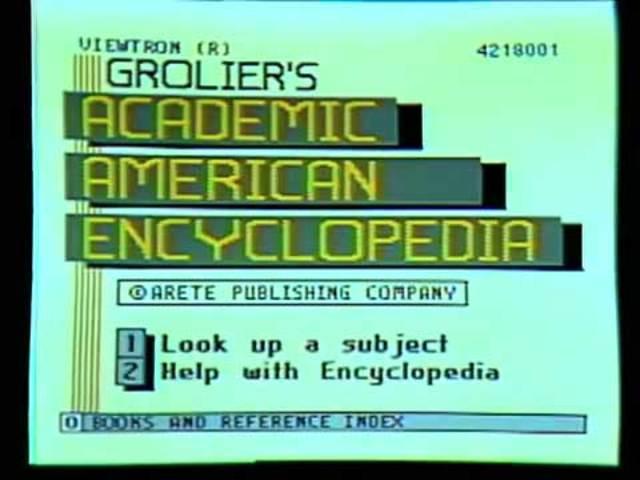 Primera digitalización de Enciclopedías