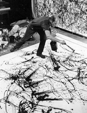 Jackson Pollock - Drippings